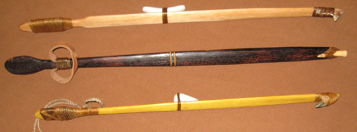 Hiawatha Atlatls recently made in the Thunderbird Atlatl shop