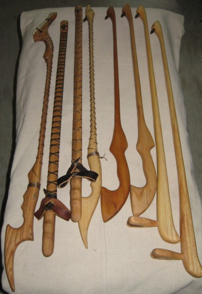 Thunderbird Atlatl offers a wide variety of atlatls.