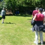 New Zealand visitors try atlatl