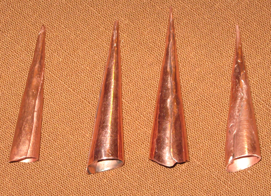 Copper Points created by Bob Berg